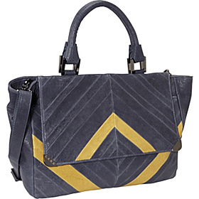 Corner Hardware - Satchel Navy