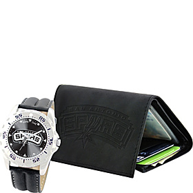 Watch and Wallet  Sets - NBA San Antonio Spurs
