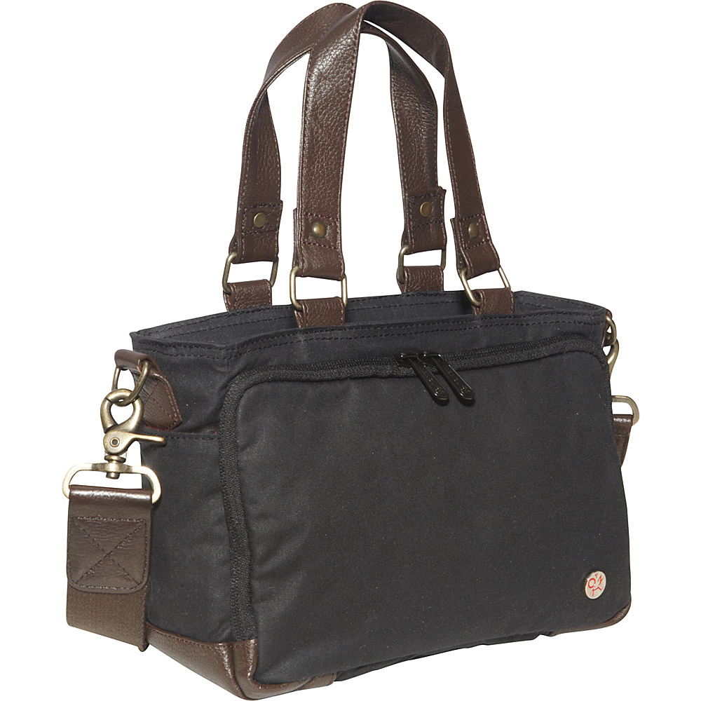 TOKEN Nostrand Waxed duffle Bag (XXS) Black - TOKEN Travel Duffels