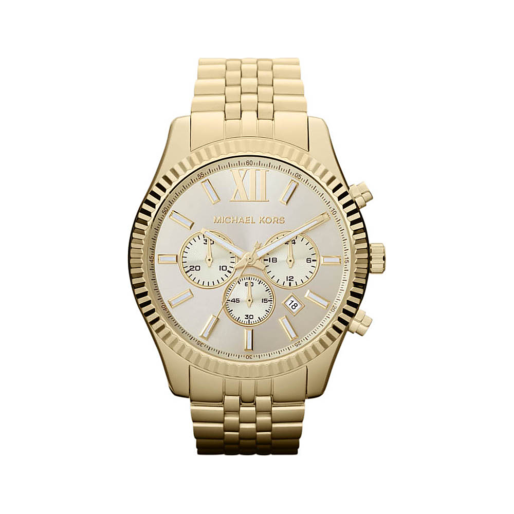 Michael Kors Watches Lexington MK8281 Watch Gold Michael Kors Watches Watches