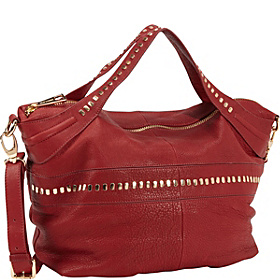 Alexandra Satchel Red