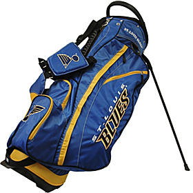 NHL St Louis Blues Fairway Stand Bag Blue