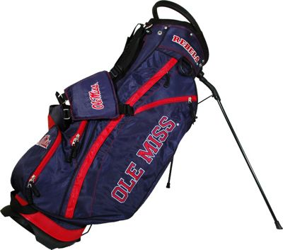 Team Golf USA NCAA University of Mississippi Rebels Fairway Stand Bag Blue - Team Golf USA Golf Bags