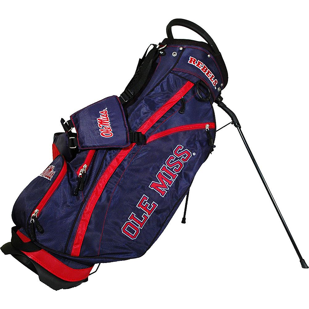 Team Golf USA NCAA University of Mississippi Rebels Fairway Stand Bag Blue - Team Golf USA Golf Bags