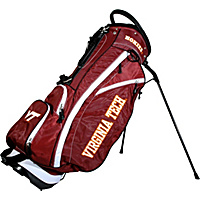 Team Golf NCAA Virginia Tech University Hokies Fairway Stand Bag Maroon - Team Golf Golf Bags