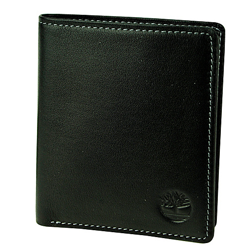 Timberland Wallets Block Island Leather Twofold Wallet Black - Timberland Wallets Mens Wallets