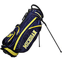 Team Golf NCAA University of Michigan Wolverines Fairway Stand Bag Blue - Team Golf Golf Bags