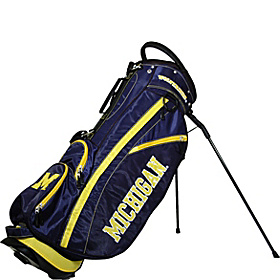 NCAA University of Michigan Wolverines Fairway Stand Bag Blue
