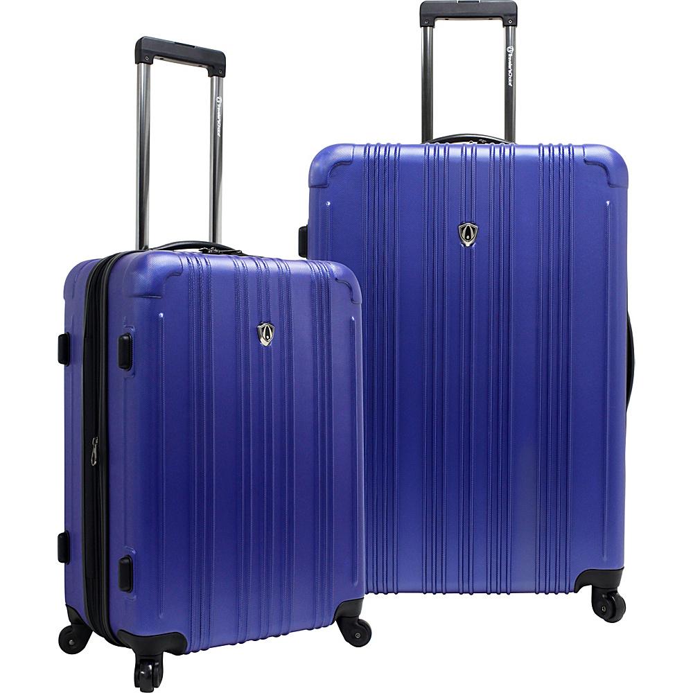 Traveler S Choice New Luxembourg Pc Expandable Hardside Luggage Set