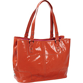Can't Stop Shopper Tote Tangelo