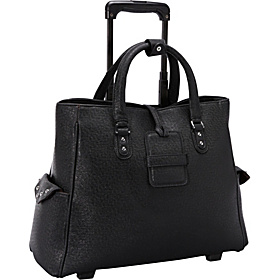 Journey Rolling Laptop Tote Black