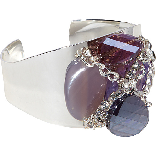 Tammy Spice Accessories Wisteria Cuff Silver - Tammy Spice Accessories Jewelry