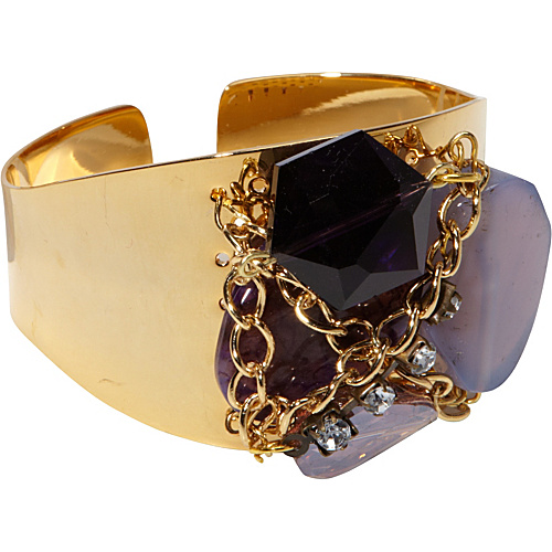 Tammy Spice Accessories Wisteria Cuff Gold - Tammy Spice Accessories Jewelry