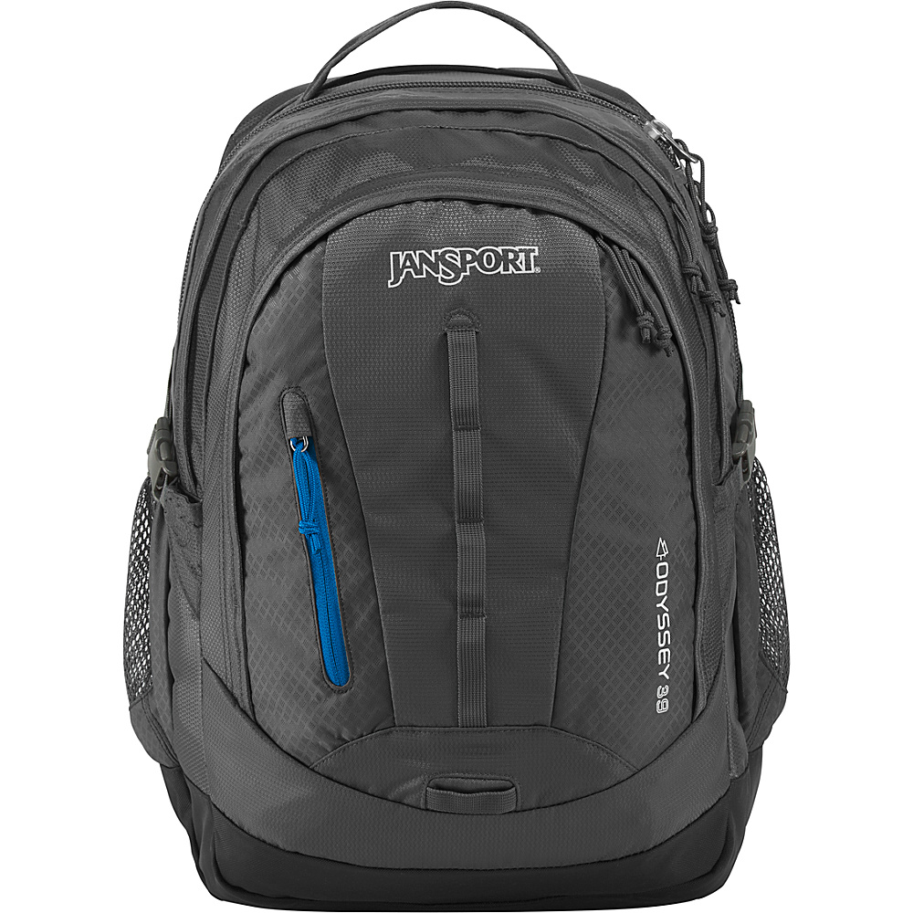 JanSport Odyssey Laptop Backpack Forge Grey - JanSport Business & Laptop Backpacks