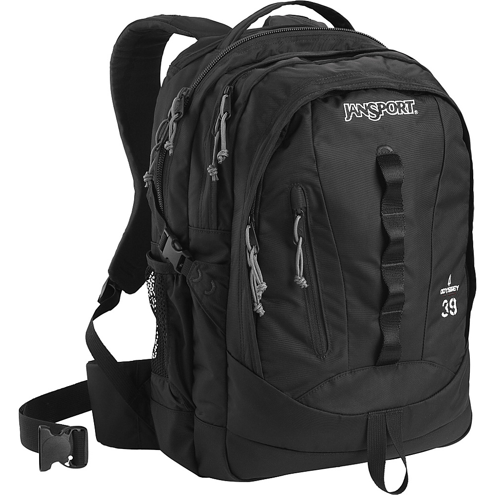JanSport Odyssey Laptop Backpack Black - JanSport Business & Laptop Backpacks