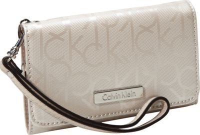 Calvin Klein Textured Embossed iPhone Case Cement Calvin Klein Personal Electronic Cases