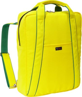 Ice Red AVA Laptop Backpack Yellow