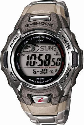 Casio Casio Men's G Shock Stainless Watch Grey - Casio Watches