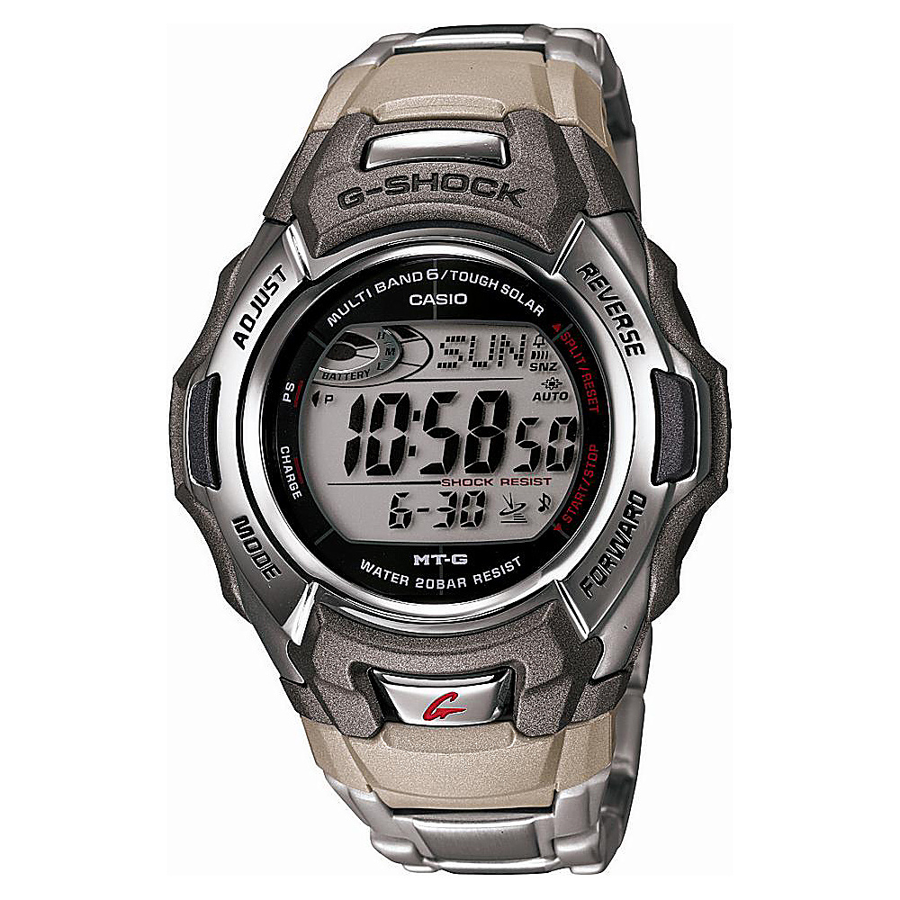 Casio Men's G Shock Stainless Watch Grey - Casio Watches