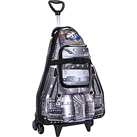 Spaceship Roller Bag Silver