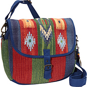 Clay Canyon Flap Over Tote Multi