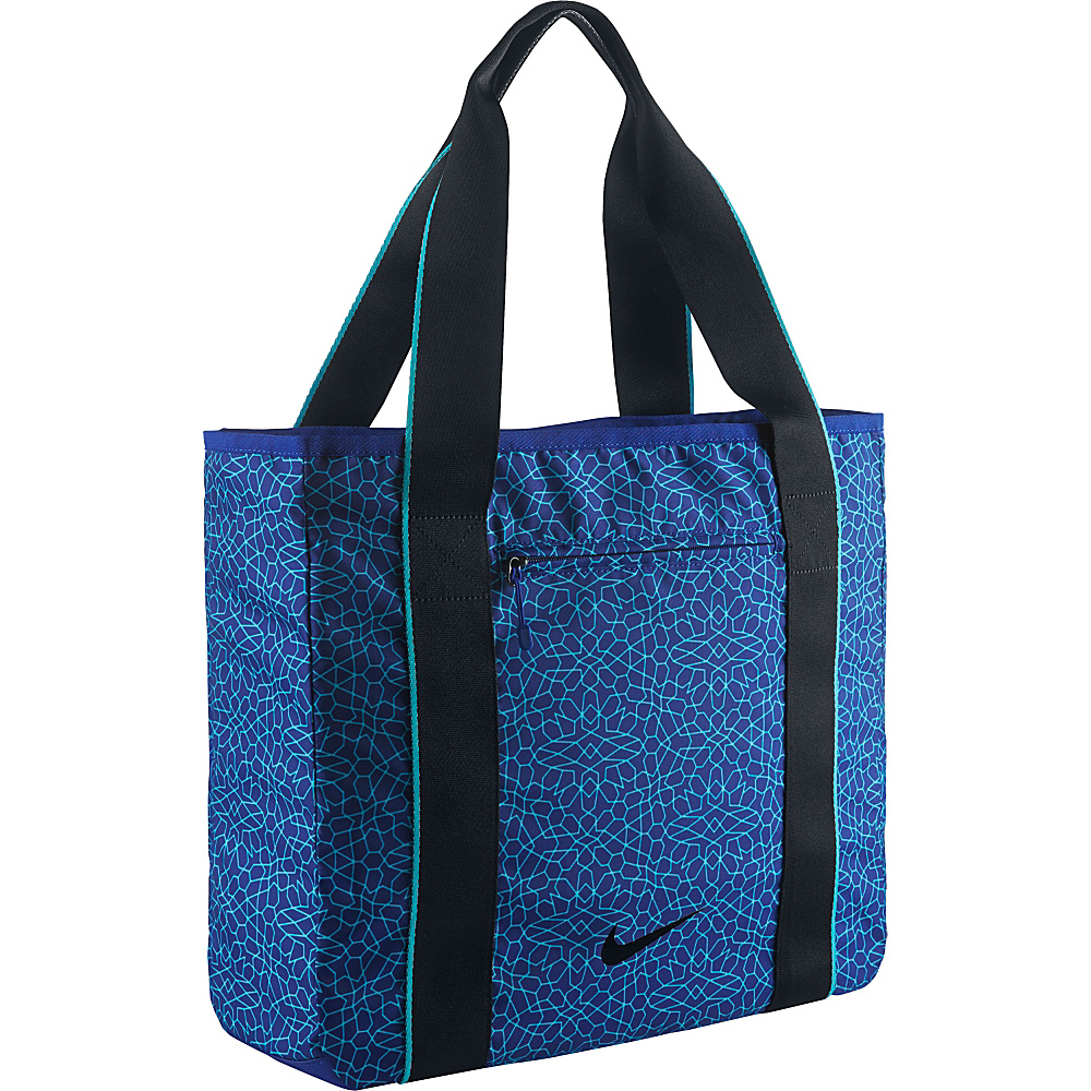 Nike Legend Track Tote 2.0 Deep Royal Blue Omega Blue Black Nike Gym Duffels