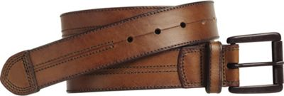 Johnston & Murphy Double Center Stitched Belt Cognac - Size 34 - Johnston & Murphy Other Fashion Accessories