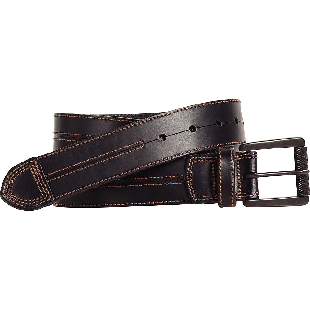 Johnston Murphy Double Center Stitched Belt Black Size 44 Johnston Murphy Other Fashion Accessories