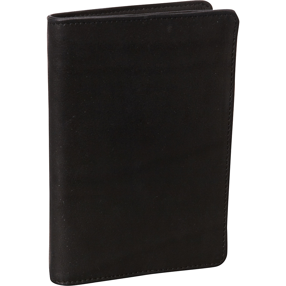 Derek Alexander NS Breast Pocket Travel Wallet Black - Derek Alexander Travel Wallets - Travel Accessories, Travel Wallets