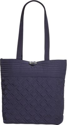 Vera Bradley Tote - Solids Classic Navy - Vera Bradley Fabric Handbags