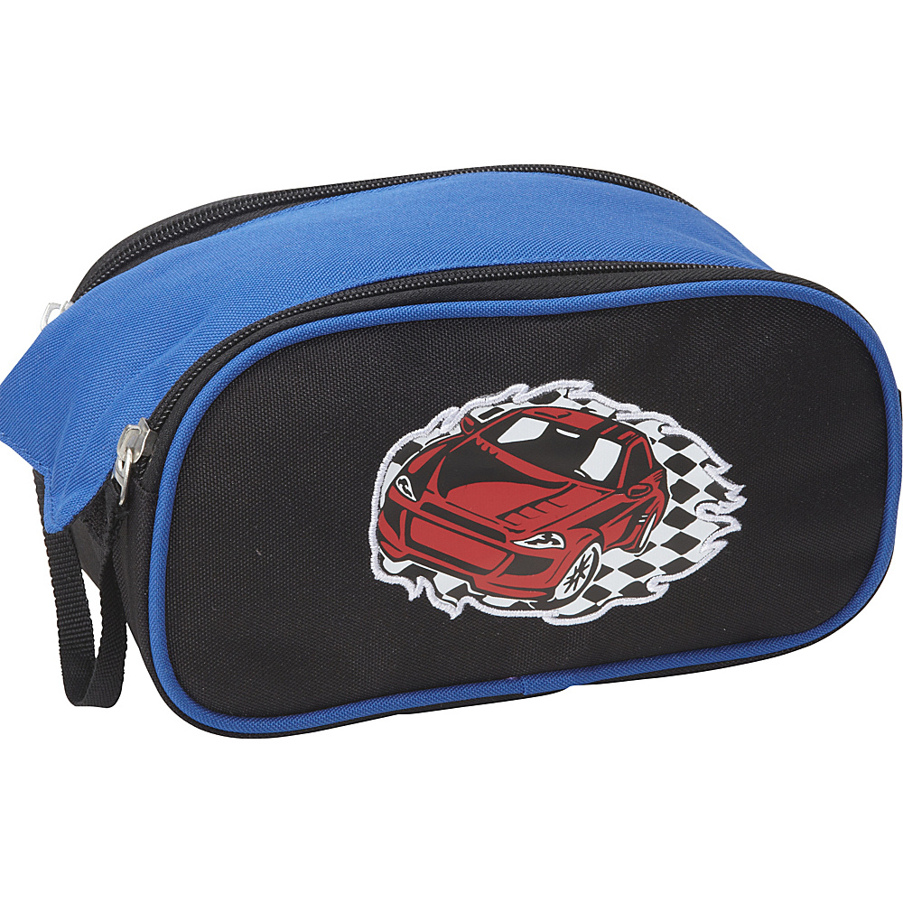 Obersee Kids Toiletry and Accessory Bag - Racecar Racecar - Obersee Toiletry Kits