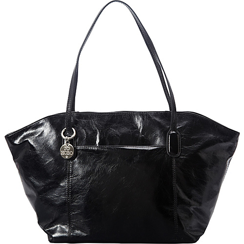 Hobo Patti Shoulder Bag Black - Hobo Leather Handbags