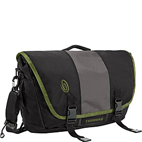 Power Commute Laptop Messenger - M Black/Gunmetal/Algae Green