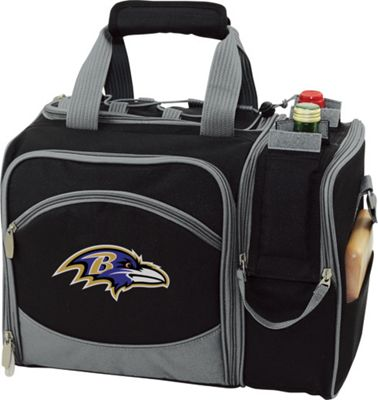 Picnic Time Picnic Time Baltimore Ravens Malibu Insulated Picnic Pack Baltimore Ravens - Picnic Time Outdoor Coolers