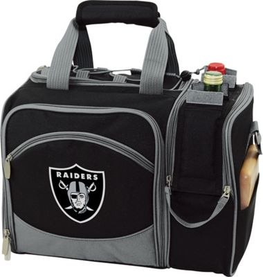 Picnic Time Picnic Time Oakland Raiders Malibu Insulated Picnic Pack Oakland Raiders - Picnic Time Outdoor Coolers