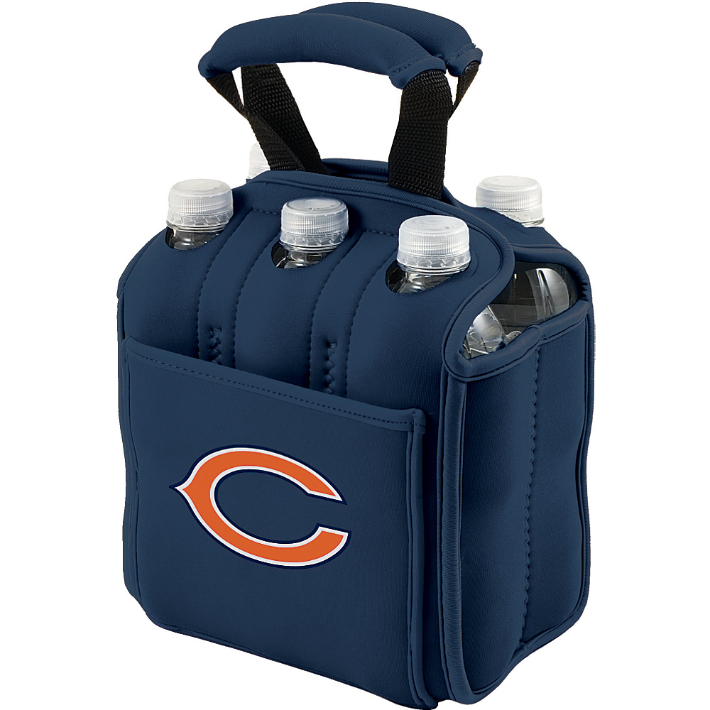 Picnic Time Chicago Bears Six Pack Chicago Bears Navy - Picnic Time Outdoor Accessories - Outdoor, Outdoor Accessories