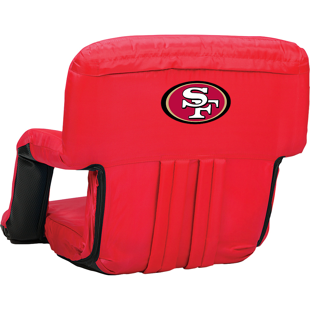 Picnic Time San Francisco 49ers Ventura Seat San Francisco 49ers Red - Picnic Time Outdoor Accessories - Outdoor, Outdoor Accessories