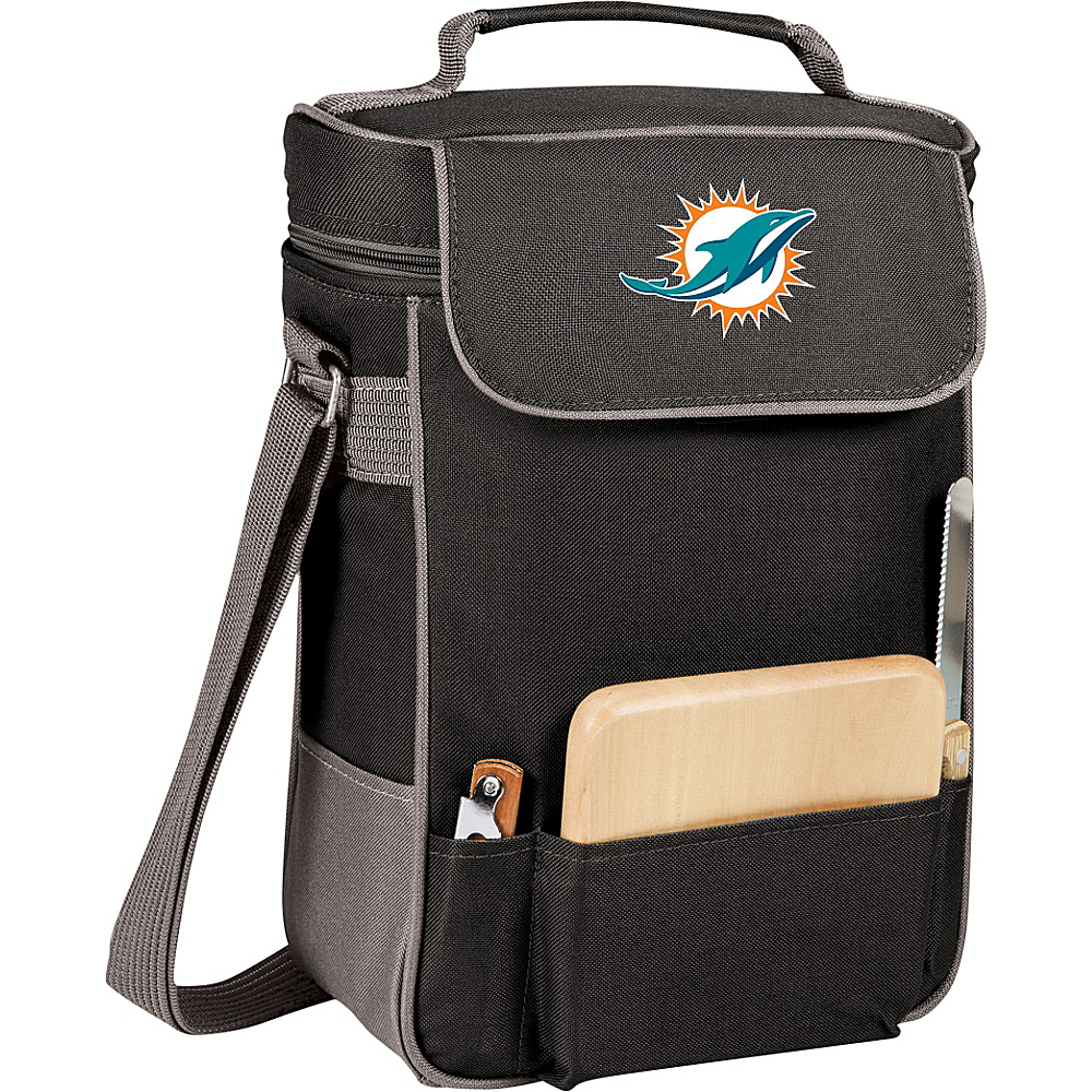 Picnic Time Miami Dolphins Duet Wine & Cheese Tote Miami Dolphins - Picnic Time Outdoor Coolers - Outdoor, Outdoor Coolers