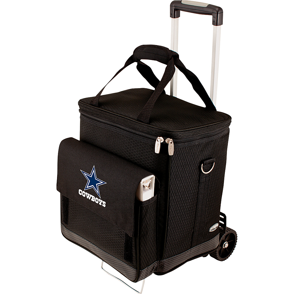 Picnic Time Dallas Cowboys Cellar w/Trolley Dallas Cowboys - Picnic Time Outdoor Coolers - Outdoor, Outdoor Coolers