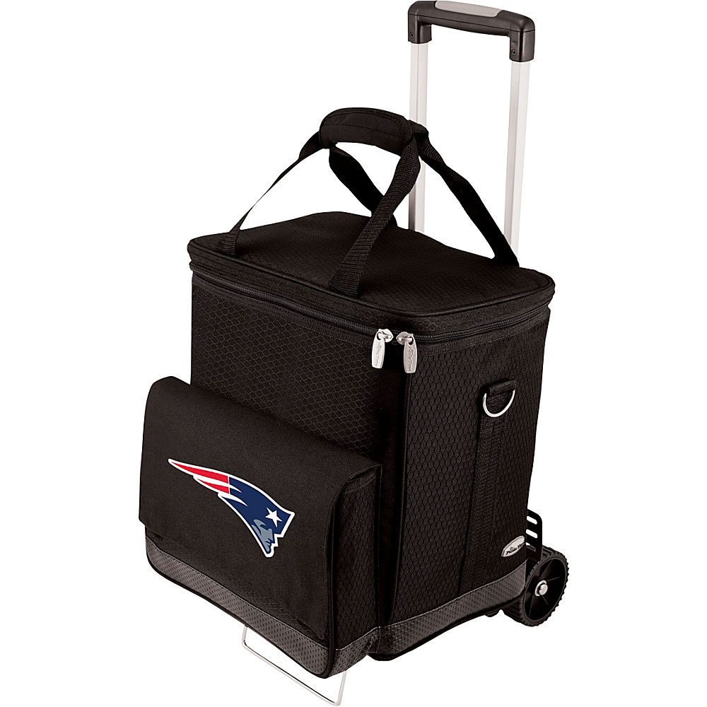 Picnic Time New England Patriots Cellar w/Trolley New England Patriots - Picnic Time Outdoor Coolers - Outdoor, Outdoor Coolers
