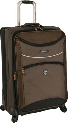 Timberland Rt 4 24 inch Spinner Cocoa - Timberland Softside Checked