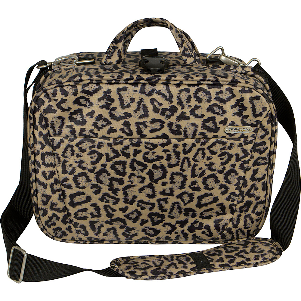 Travelon Total Toiletry Kit - Exclusive Colors Leopard - Exclusive Color - Travelon Toiletry Kits - Travel Accessories, Toiletry Kits