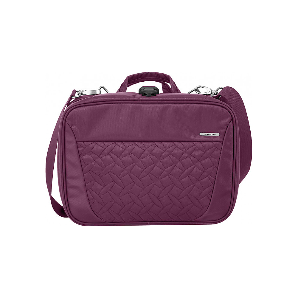 Travelon Total Toiletry Kit Wineberry Quilted - Travelon Toiletry Kits - Travel Accessories, Toiletry Kits