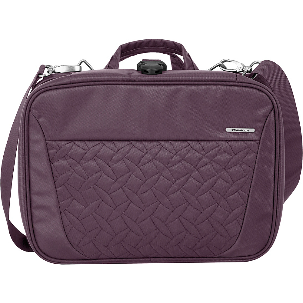 Travelon Total Toiletry Kit - Exclusive Colors Dark Lilac - Exclusive Color - Travelon Toiletry Kits - Travel Accessories, Toiletry Kits
