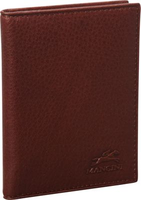Mancini Leather Goods San Diego Collection: Metro Credit Card Passcase Wallet Cognac - Mancini Leather Goods Men's Wallets