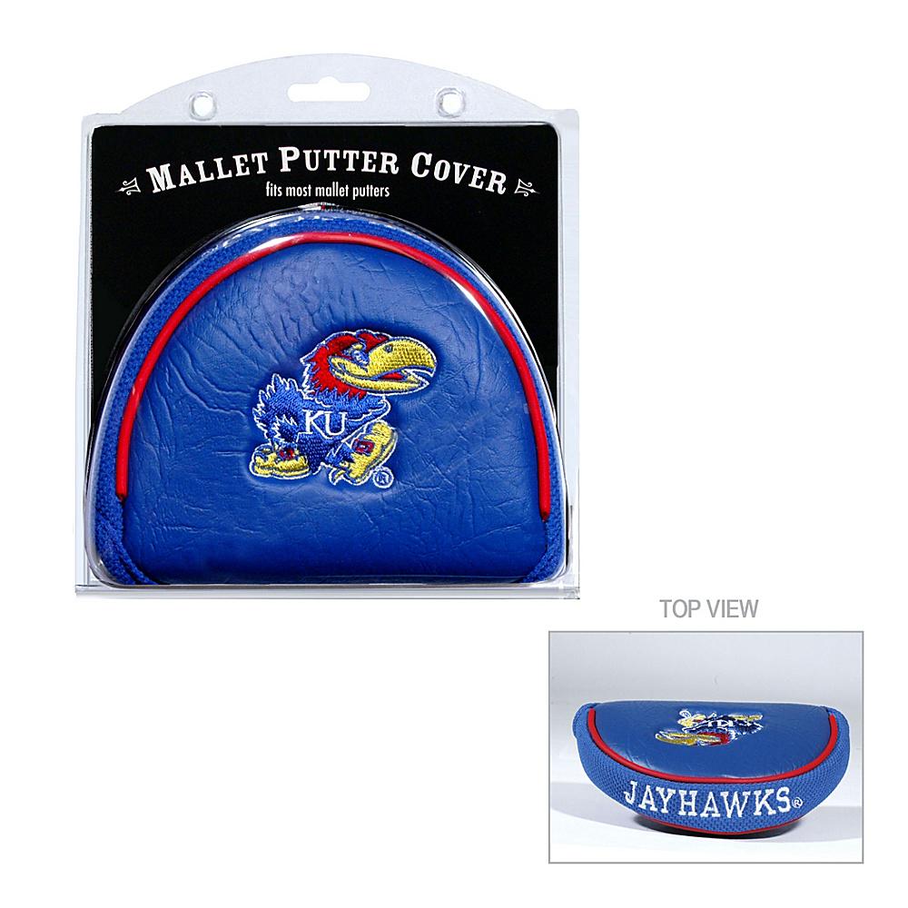 Team Golf USA University of Kansas Jayhawks Mallet Putter Cover Team Color - Team Golf USA Golf Bags