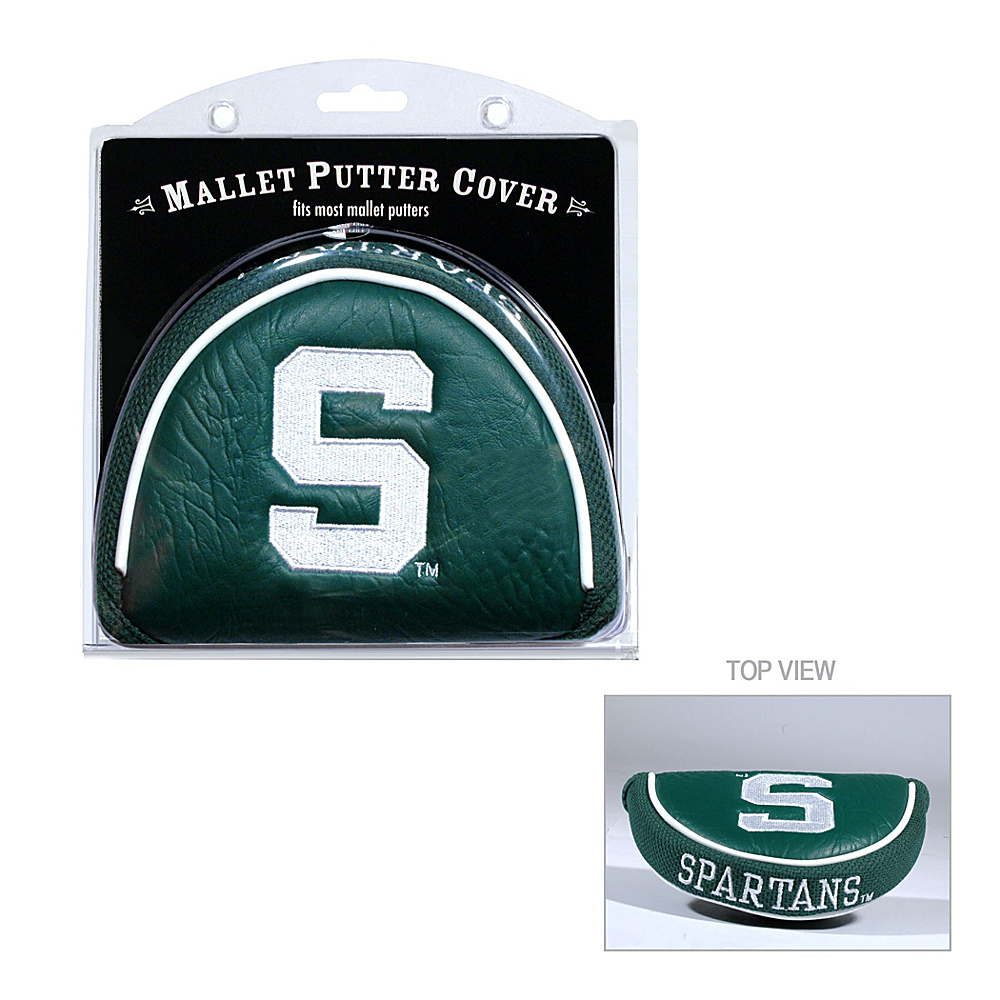 Team Golf USA Michigan State University Spartans Mallet Putter Cover Team Color - Team Golf USA Golf Bags