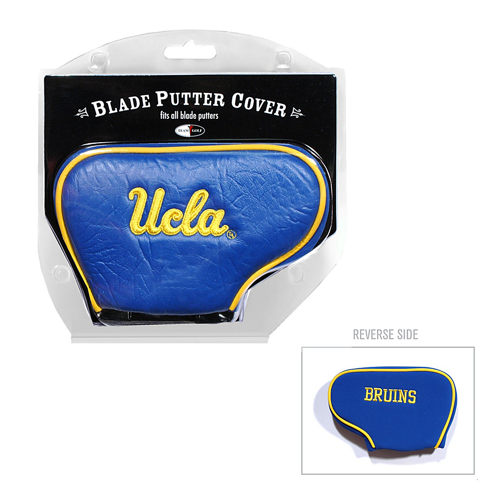 Team Golf USA University of California Los Angeles (UCLA) Bruins Blade Putter Cover Team Color - Team Golf USA Golf Bags