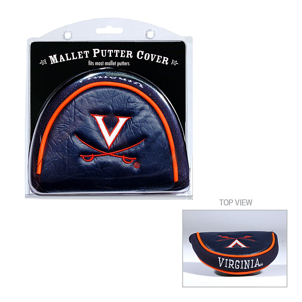 Team Golf USA University of Virginia Cavaliers Mallet Putter Cover Team Color - Team Golf USA Golf Bags