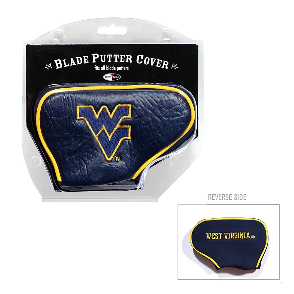 Team Golf USA West Virginia University Mountaineers Blade Putter Cover Team Color - Team Golf USA Golf Bags